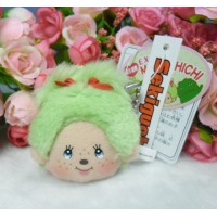 Monchhichi Japan Expo Limited Mascot LCD Monitor Screen MCC Plush Cleaner Lt.Green 305214