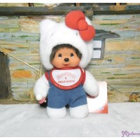 Hello Kitty x Monchhichi S Size Plush 22cm Limited 323847