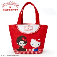 Hello Kitty x Monchhichi Bag 31x 14cm 帆布袋 324110