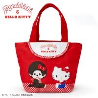 Hello Kitty x Monchhichi Bag 31x 14cm 帆布袋 324110