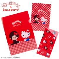Hello Kitty x Monchhichi Stationery Files (3pcs Set) 324424