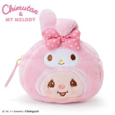 Melody x Monchhichi Plush Coin Bag 錢包 324622
