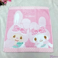 Melody x Monchhichi Chimutan Chim Tan Bunny Cotton Towel 毛巾 324990 ~~LAST ONE ~~