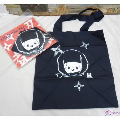 Monchhichi Tote Bag Ninja Flat Totebag Eco Bag  純綿 忍者 袋 40810