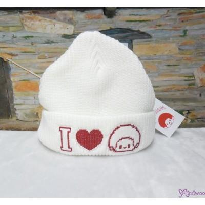 Monchhichi Winter Knit Hat 冬天服飾 白色 冷帽 (大人用) 40872