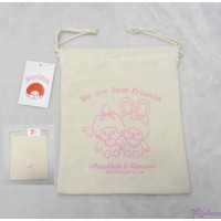 Monchhichi & Chimutan Bag 100% Cotton Eco Bag  純綿 布袋 40995