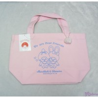 Monchhichi & Chimutan Bag 100% Cotton HandBag Pink  純綿 手抽 布袋 41022