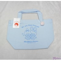 Monchhichi & Chimutan Bag 100% Cotton HandBag  Blue 純綿 手抽 布袋 41039