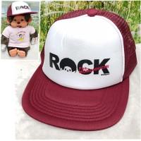 Sekiguchi Fes Monchhichi Cap 帽 (大人用) Red 41053
