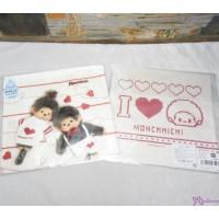 Monchhichi Baby Handkerchief 日本製 今治 雙面 手帕 L Size Style F 475971