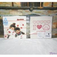 Monchhichi Baby Handkerchief 日本製 今治 雙面 手帕 M Size Style F 475988