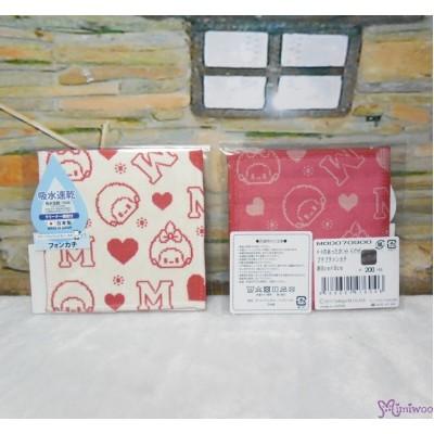 Monchhichi Baby Handkerchief 日本製 今治 雙面 手帕 S Size Style G 476046