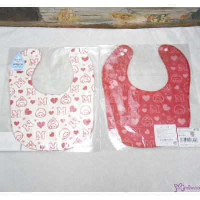 Monchhichi Baby Bib 日本製 今治 雙面 口水巾 口水肩 Style G 476053