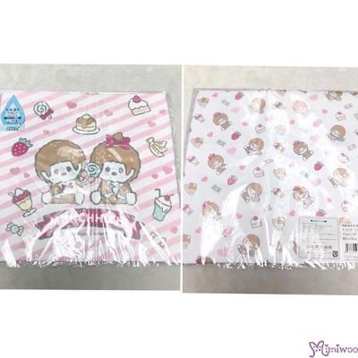Monchhichi Baby Handkerchief 日本製 今治 雙面 手帕 L Size Style N 476268