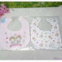 Monchhichi Baby Bib 日本製 今治 雙面 口水巾 口水肩 Style N 476299