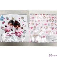 Monchhichi Baby Handkerchief 日本製 今治 雙面 手帕 L Size Style K 476336
