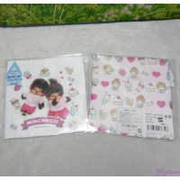 Monchhichi Baby Handkerchief 日本製 今治 雙面 手帕 M Size Style K 476343