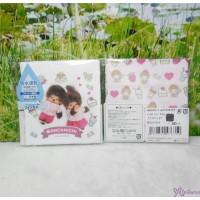 Monchhichi Baby Handkerchief 日本製 今治 雙面 手帕 S Size Style K 476350