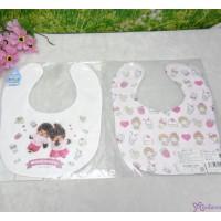 Monchhichi Baby Bib 日本製 今治 雙面 口水巾 口水肩 Style K 476367
