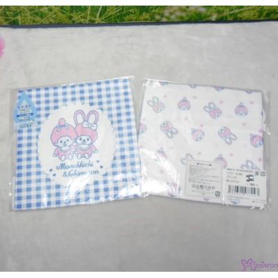 Monchhichi Baby Handkerchief 日本製 今治 雙面 手帕 M Size Style M 477043