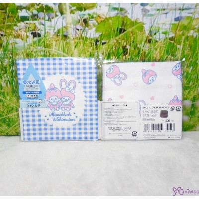 Monchhichi Baby Handkerchief 日本製 今治 雙面 手帕 S Size Style M 477050