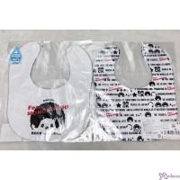 Fes Monchhichi Baby Bib 日本製 今治 雙面 口水巾 口水肩 477135