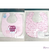 Monchhichi & Chimutan POP'N Candy Club Baby Bib 日本製 今治 雙面 口水巾 口水肩 478576