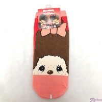 Monchhichi Socks 100% Cotton (Size 23-25cm) Red 508228