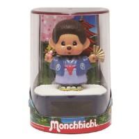 Monchhichi Solar Eco Figure Nohohon Kimono 太陽能 搖頭 公仔 5711