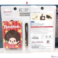 Monchhichi Star Passcae Card Case 八達通 咭套 (連帶及扣)  621849