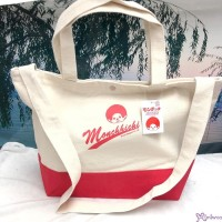 Sport Monchhichi 32 x 33 x 16cm  100% Cotton 2 Way Large Bag Red 全棉 布袋 700175