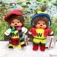 "Monchhichi S Size Taiwan Limited Sporty Boy & Girl 台灣 限定 700420+700430 ""PRE-ORDER"""