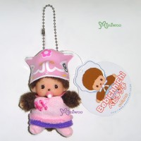 Monchhichi Bebichhichi Spring Festival Keychain Mascot Girl 春節 吊飾 703100
