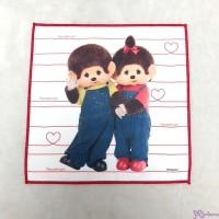 Monchhichi 100% Polyester 20.5 x 20.5cm Handkerchief 日本製 手帕 704743