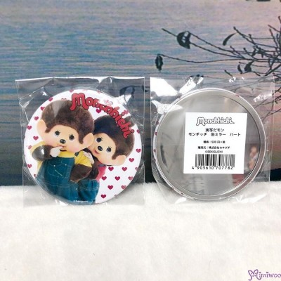 日本限定 Event Limited Monchhichi 7.5cm diameter Mirror B 鏡子 707782