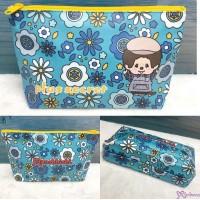 Monchhichi Cafe W20.5 x 11 x 4cm  Zipper Pouch Bag 720036