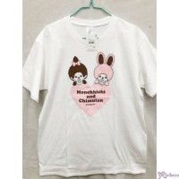 Monchhichi & Chimutan 100% Cotton Fashion Adult Tee White L Size  725075