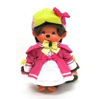 Monchhichi x Milky Holmes S Size MCC - Pink Shrlock 少女福爾摩斯 741823