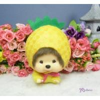Big Head Monchhichi Keychain Mascot - Pineapple 大頭 飛天 菠蘿 760010