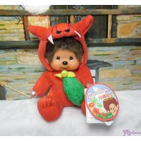 Monchhichi Okinawa Limited Plush Red Shisa with Goya 沖繩 限定 守護神 獅子 苦瓜 760820