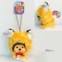 Big Head Monchhichi MCC Keychain Mascot - Flying Wolf  780080