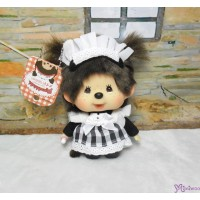 Monchhichi Big Head Maid Keychain Mascot 秋葉原 限定 大頭 女僕 吊飾 787753