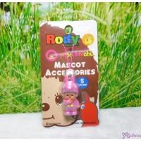 Monchhichi 3cm Mini Mascot Phone Strap Rody Horse Pink 跳跳馬 吊飾 #789530