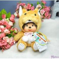 Monchhichi 北海道 地區限定 軟頭 坐姿 狐狸 Soft Head 18cm Fox 791323