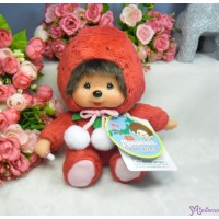 Monchhichi 日本 地區限定 軟頭 坐姿 士多啤梨 Soft Head 18cm Strawberry 791354