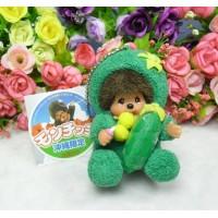 Monchhichi Okinawa Limited Mascot MCC Keychain - Balsam Pear 793910