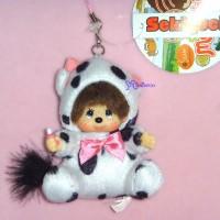 Monchhichi Hokkaido Limited MCC Mascot Keychain - Moko Moko Cow 798230