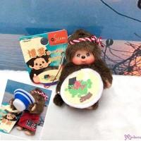 Monchhichi Mini Mascot 7cm Ramen Boy 福岡限定 博多拉麵 吊飾 ~ RARE ~ 798410