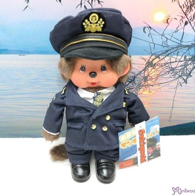 Monchhichi S Size Japan Limited Shinkansen Railway Captain 新幹線 車長 798690