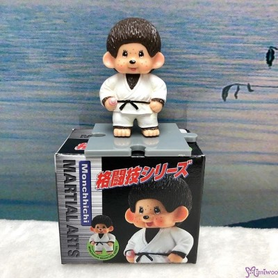 Monchhichi 6cm Mini Figure Fighter Judo 膠公仔 (連底坐) 格鬪技 813500
